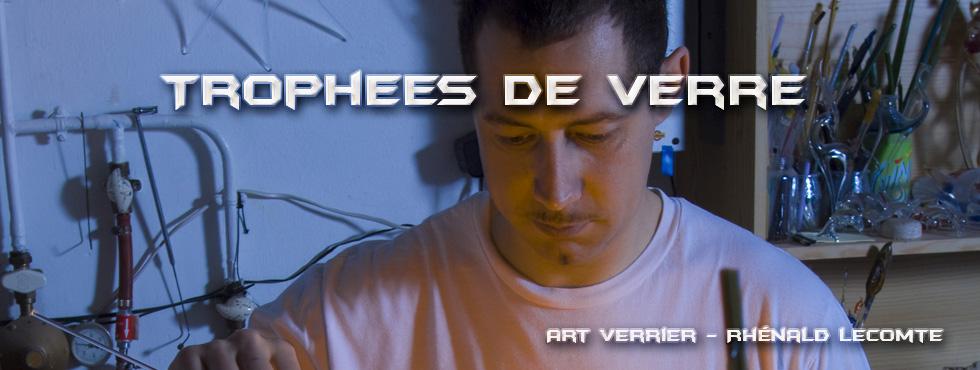 Rhénald Lecomte - Art Verrier - Créateur de trophées - La Gacilly - Morbihan