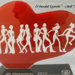 Trophée événementiel - Trophée running - La Vannetaise 2012 - Prévention et sensibilisation des cancers féminins - Art Verrier