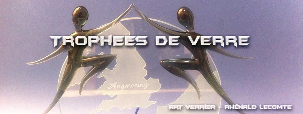 Trophées d'art en verre personnalisés - Art Verrier - La Gacilly