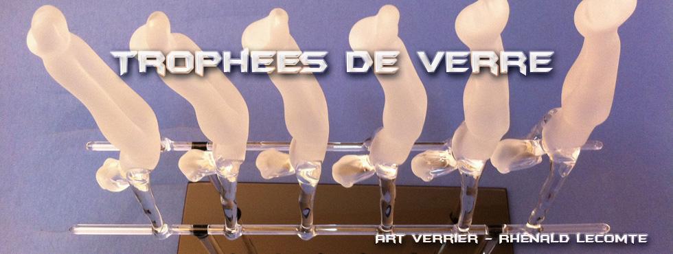 Trophée d'art Pompiers de Paris - Trophée sculpture personnalisé en verre