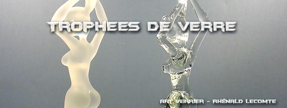 Trophées entreprise - Image de marque L'Oréal - Trophée sculpture réalisé au chalumeau